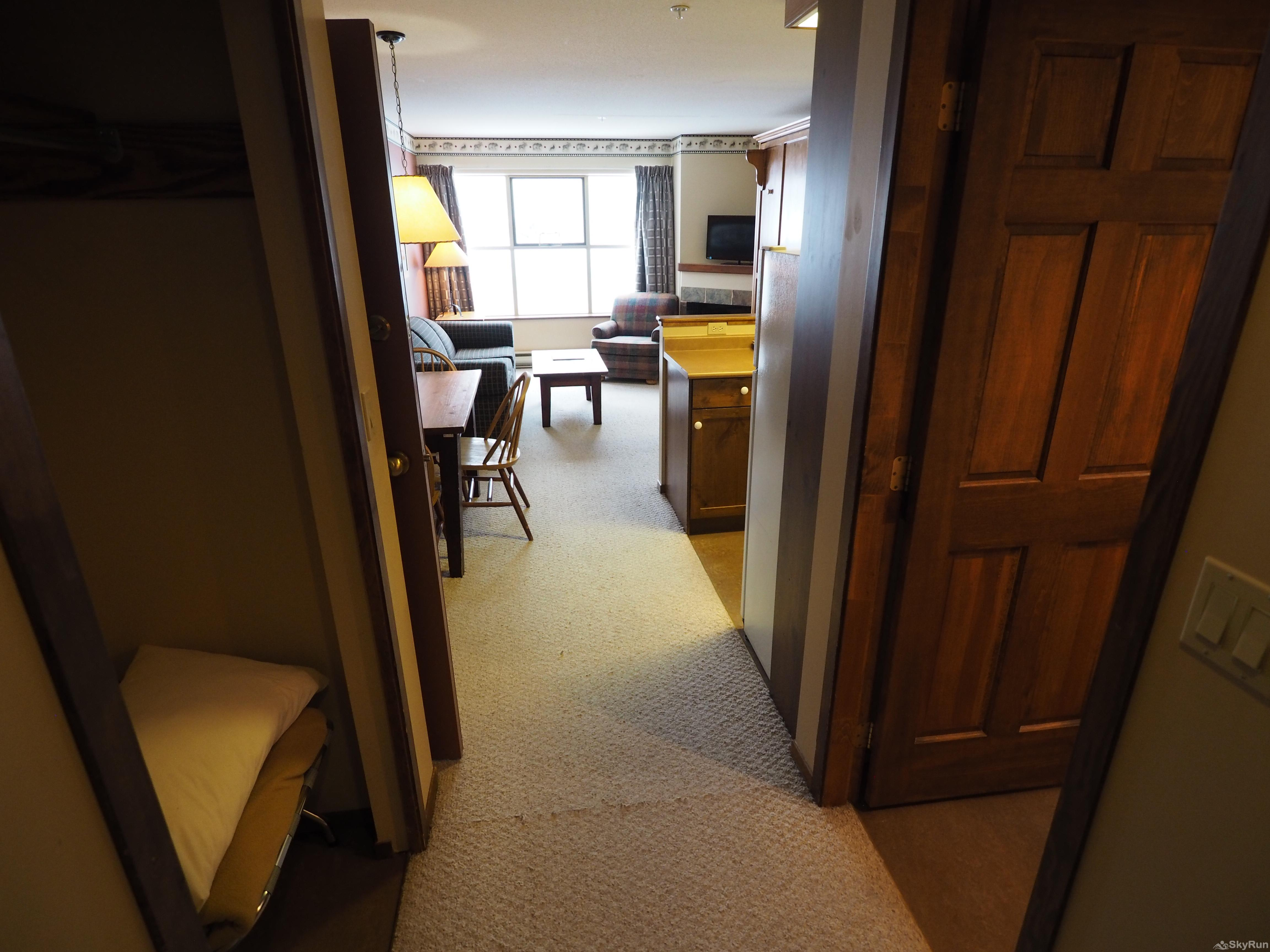 Apex Mountain Inn 1 BDRM Suite 205-206 Entrance
