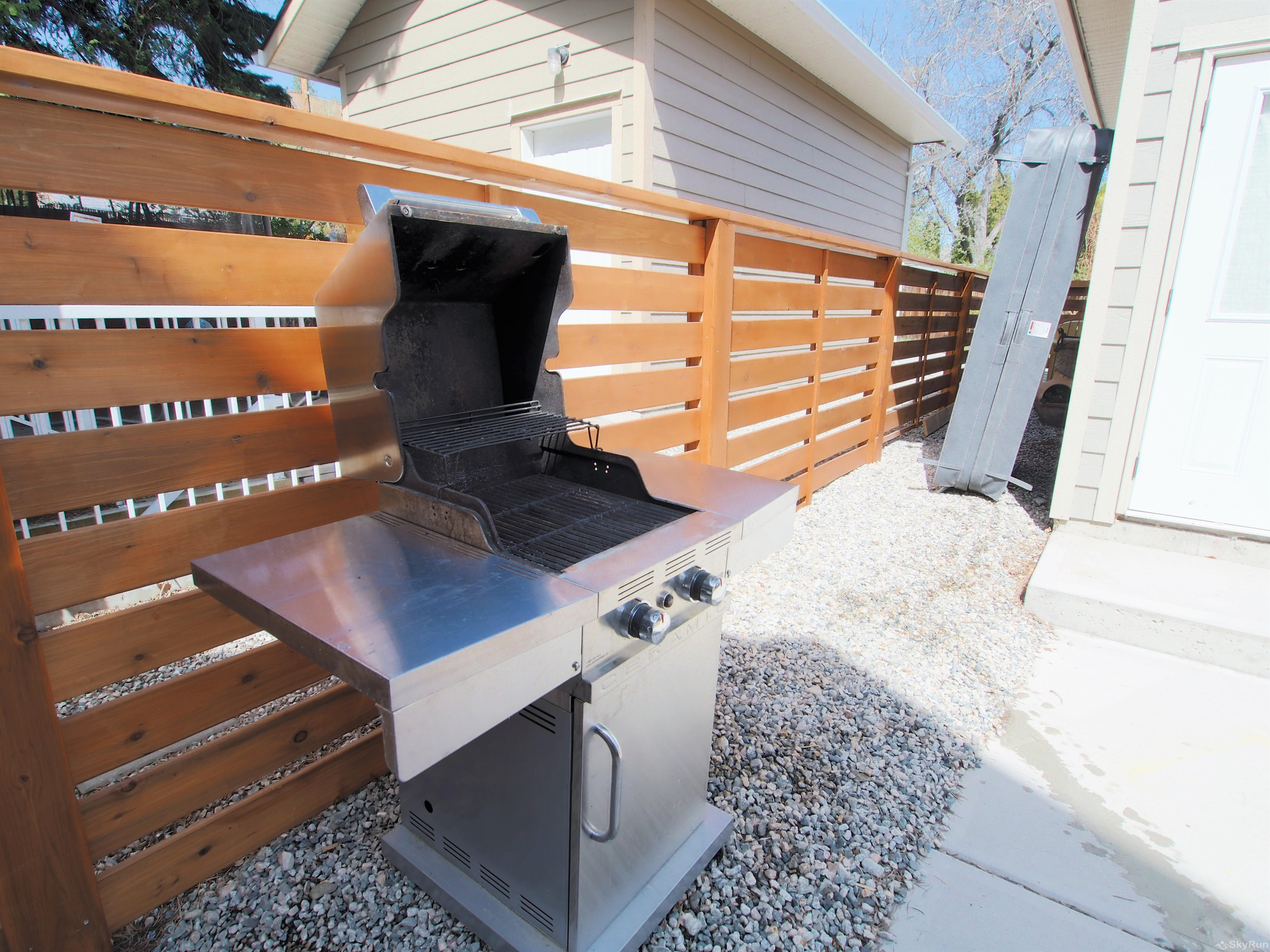 Old Summerland 3 bedroom home Enjoy cooking on this propane BBQ