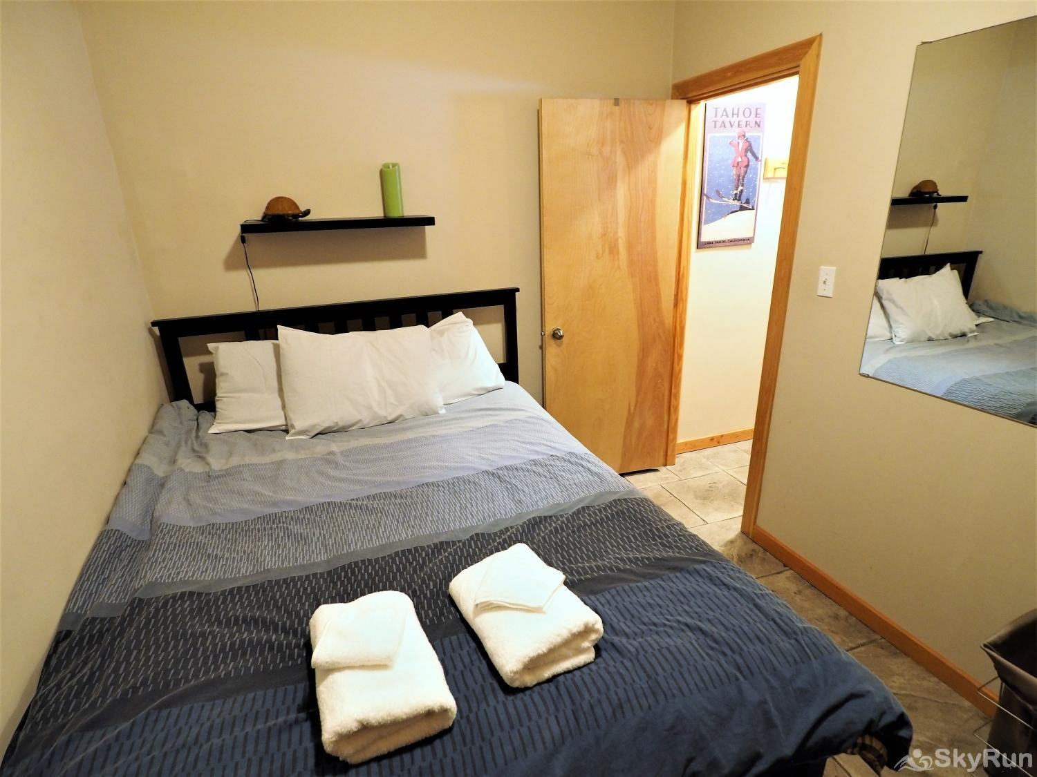 Silver Bullet Ski Out Queen bedroom